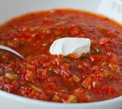 Cool Red Gazpacho