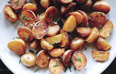 Crispy Salt and Vinegar Potatoes