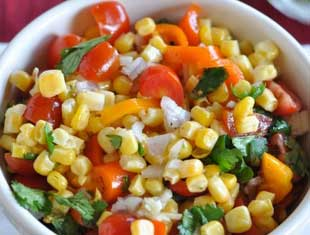 Sweet Corn and Pepper Salsa
