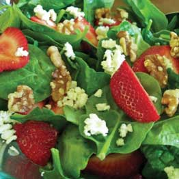 Strawberry Salad with DIY Dressings