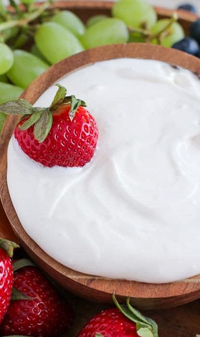Vanilla Cream Cheese Dip